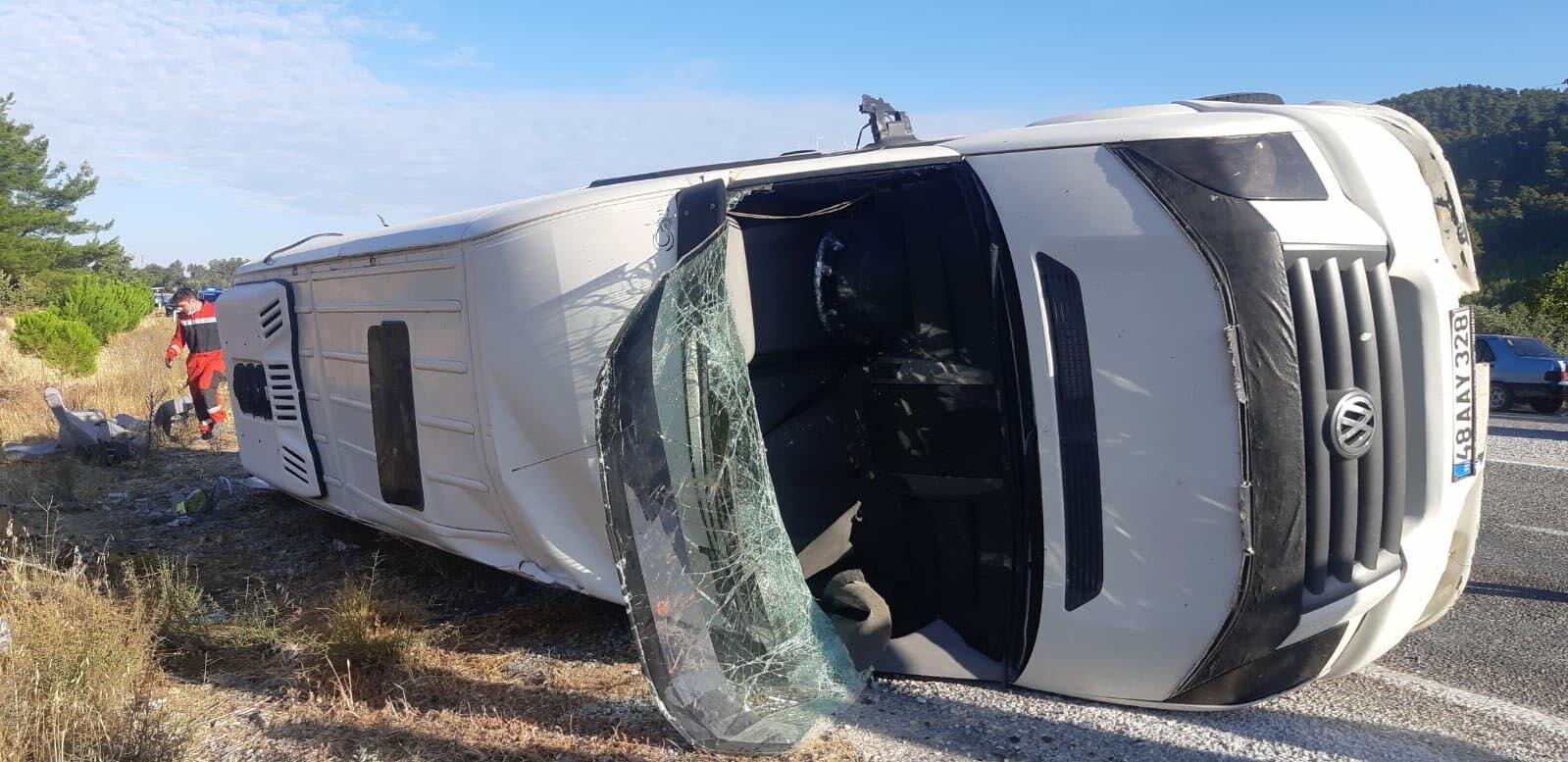 в Турции столкнулись два автобуса