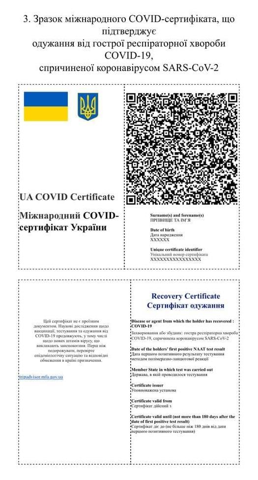 Образец сертификата 3