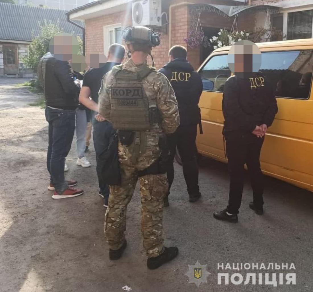 Тернопольская полиция задержала банду вымогателей